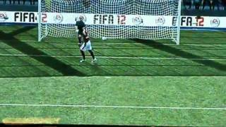 FIFA 12 Gameplay (Includes Freekicks, Stats and Penalty) - Gamescom 2011