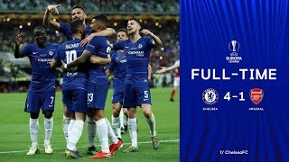 Chelsea 4-1 Arsenal All goals & highlight 29/5/2019