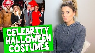 REVIEWING CELEBRITY HALLOWEEN COSTUMES // Grace Helbig