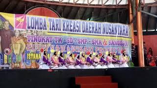 Ya saman,  sdit citra sahabat Tari Kreasi Daerah Taman Indonesia indah