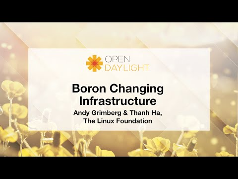 Boron Changing Infrastructure