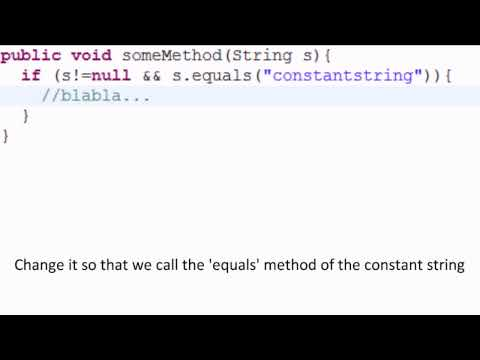 Comparing strings without null-checks