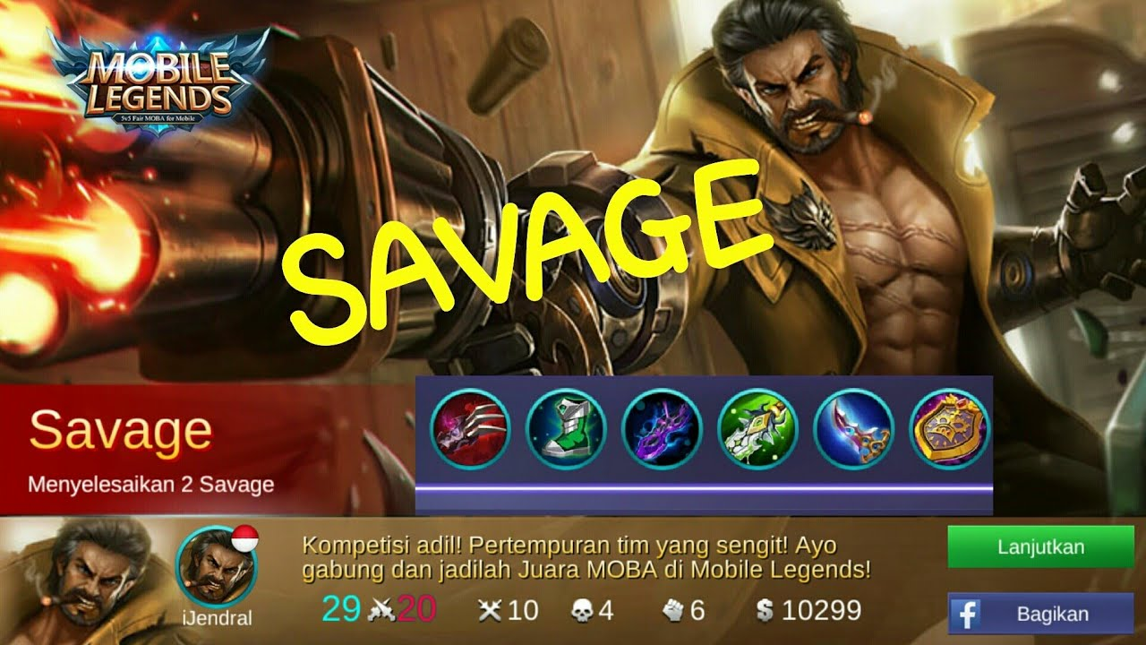 Roger SAVAGE! Best Build Roger In Ranked Game. Mobile