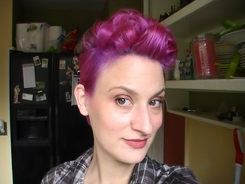 Pixie Styling Series Faux Hawk Quiff Youtube