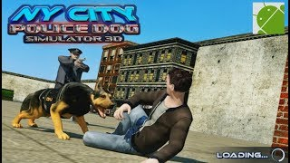 NY City Police Dog Simulator 3D - Android Gameplay HD