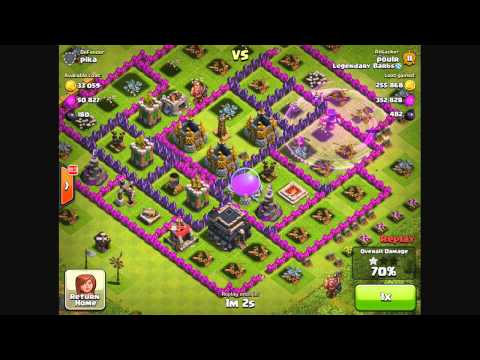 Clash of Clans - Best Farming Strategy For All Levels (Clash of Clans Gameplay)
