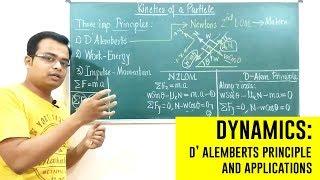 D' Alemberts Principle | Dynamics | Engineering Mechanics