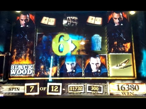 Sherlock Holmes Slot Machine *GREAT WIN* Blackwood Free Spins Bonus! - 동영상
