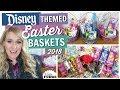 DIY Easter Basket Ideas 2018    Girls and Boys DISNEY Easter Baskets!