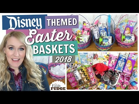 DIY Easter Basket Ideas 2018 || Girls And Boys DISNEY Easter Baskets!