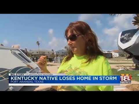 Kentucky Native Returns To Devastation At Port Aransas Home