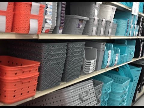 Browse With Me BIG LOTS Teacher Classroom Home Organization Storage Bins