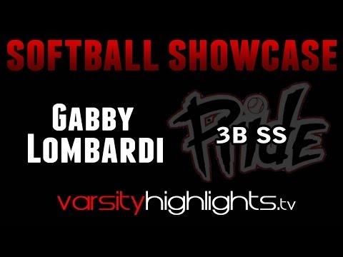 Gabby Lombardi Softball Showcase (3B/SS-NJ Pride/Mount Saint Dominic Academy Class of 2015)