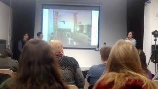 Лекция о ленинградских хрущёвках в Ржевской библиотеке 11 февраля 2018 г.