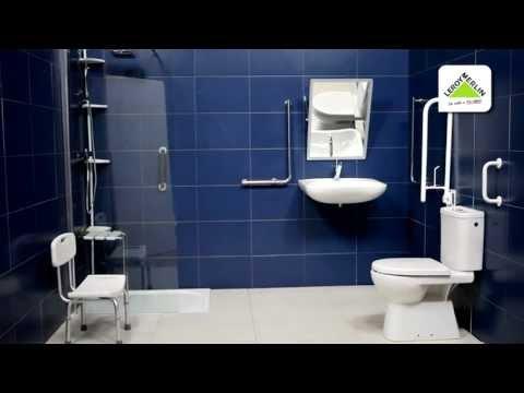 Accesibilidad en el baño (Leroy Merlin)