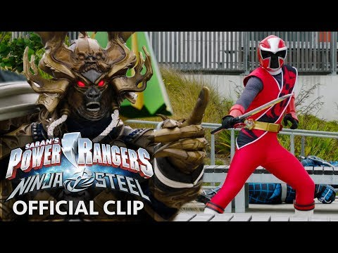 Power Rangers | Ninja Steel Official Clip - Galvanax Rise
