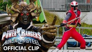 Power Rangers Ninja Steel Official Clip - Galvanax Rise