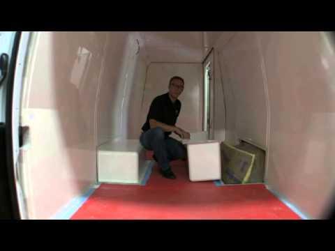 Sprinter Rv Conversion >> Cool-R Kit Sprinter Installation - Refrigerated Van - YouTube