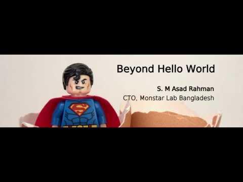 Angular Meetup Dhaka 2017 - Beyond Hello World!