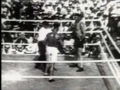 Jack Dempsey and Jess Willard- The Worst Beating in Boxing History - W/ Commentary