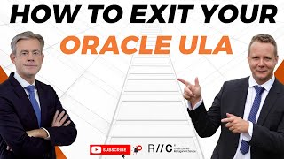How to exit your Oracle ULA