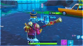 Fortnite how to get the Driftboard early!