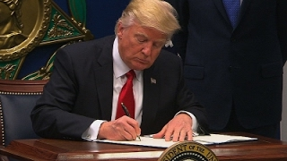 Trump Signs New Vetting Measures for Immigrants