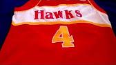 8d04c77d6 Spud Webb Atlanta Hawks Retro Throwback Jersey Size XL - YouTube