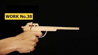 clothespin mecha 2 rounds rubber band hand gun oggcraft jp
