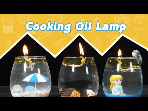 How to Make an Oil Lamp?