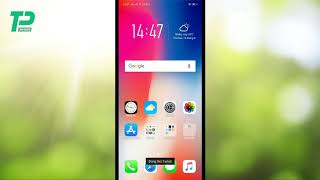 Oppo f7 iphone x style theme and look in english by vickgeek
