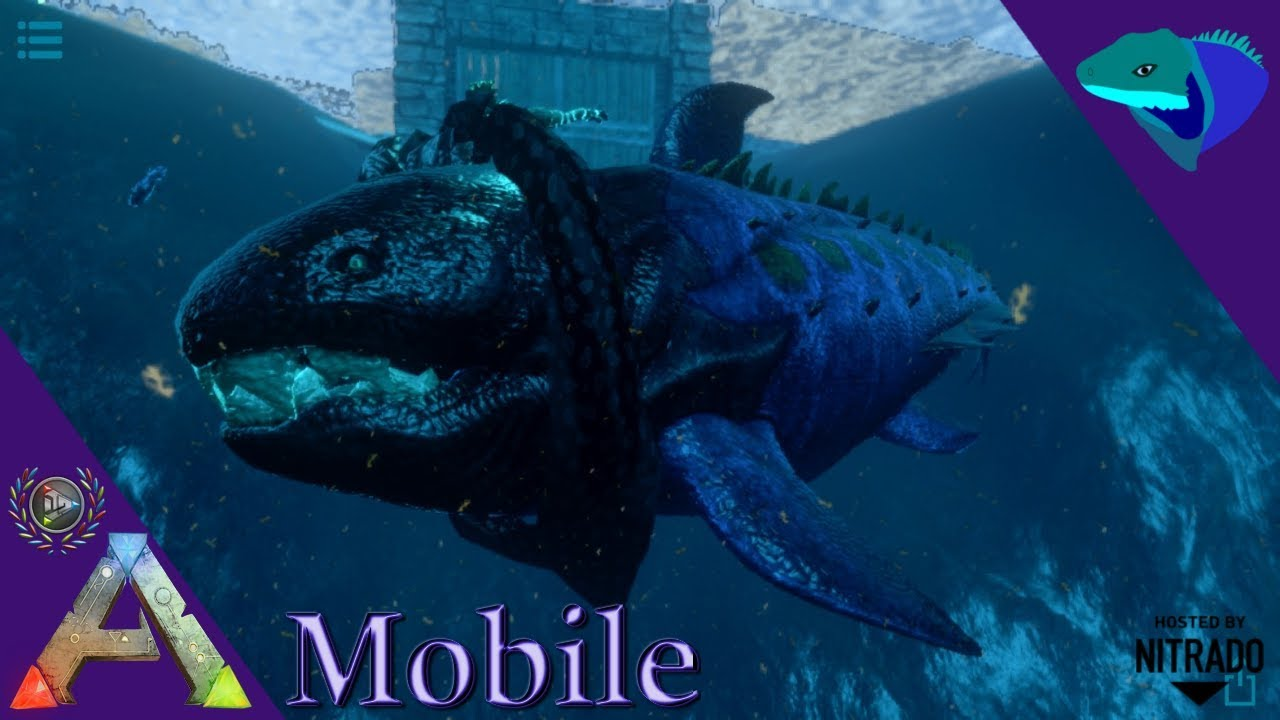 DUNKLEOSTEUS TAMING! ALL THE OIL, NONE OF THE STAMINA! ARK:Mobile [S2:E47]