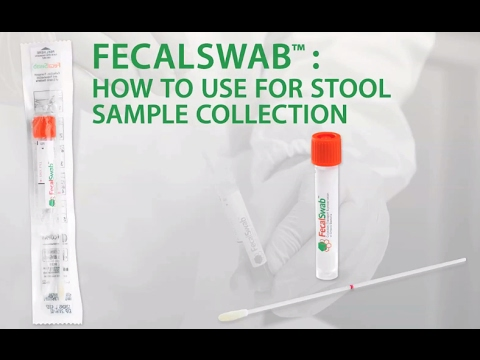 How To Use Copans Fecalswab For Stool Sample Collection Youtube