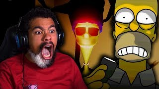 THIS SIMPSONS HORROR GAME HAS ME EXTRA TENSE!! | Eggs for Bart