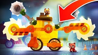 HOW TO BUILD THE MOST INSANE CAR | CATS: Crash Arena Turbo Stars