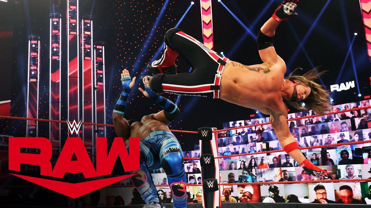 Xavier Woods vs. AJ Styles: Raw, Mar. 29, 2021