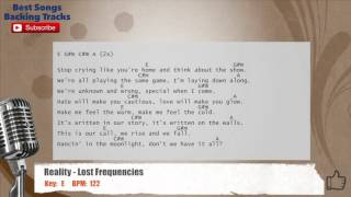 Reality - Lost Frequencies Vocal Backing Track with chords and lyrics