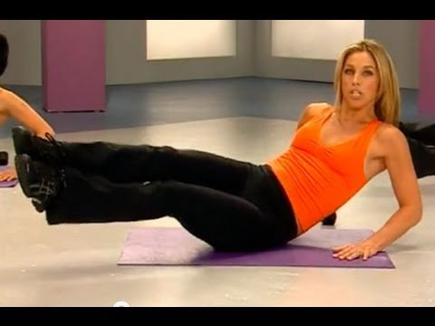 7 Min 6 Pack Abs Workout Denise Austin Abs Waist Core Youtube