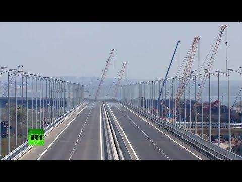 Putin attends Crimean Bridge opening ceremony