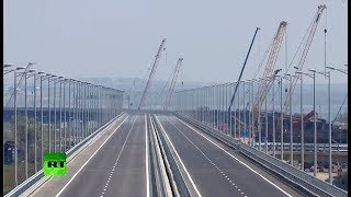 Putin attends Crimean Bridge opening ceremony
