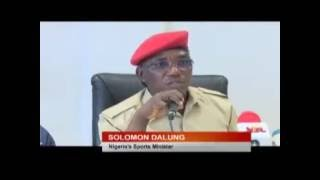 Nigeria Minister of Sport Disgraced self. Watch this!