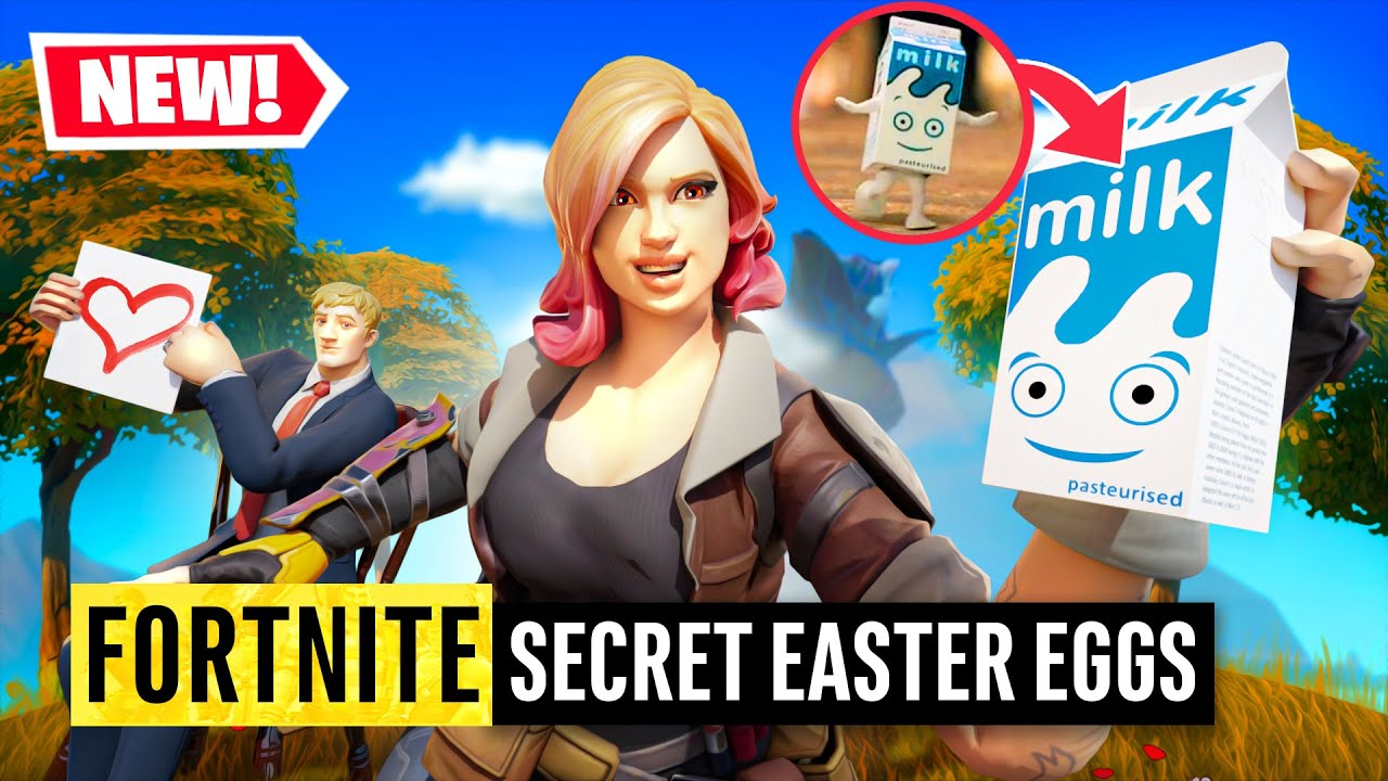 Fortnite | 16 Secret Easter Eggs in 16 Seasons