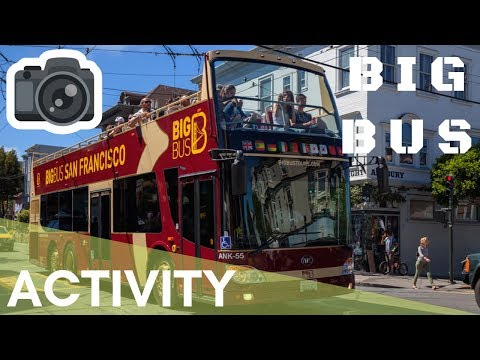 SAN FRANCISCO BIG BUS TOUR CITY SIGHTSEEING + EPIC RIDE ON THE GOLDEN GATE BRIDGE 👍😄