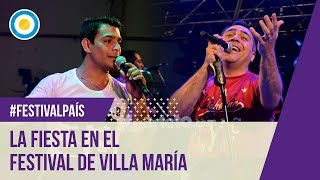 La Fiesta en el Festival de Villa María 2016