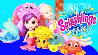 Mermaid ~ REAL Splashlings Mermaids Worlds Smallest Pool Polly Pocket COLOR CHANGE 2016 Mermaid
