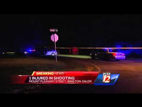 Winston Salem shooting leads to car crash