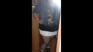 Plus Size OOTD - Skulls, Fishnets, and Minis, Oh My... Thumbnail