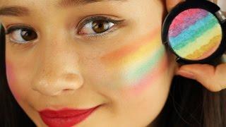 Regenboog highlighter en donut highlighter DIY