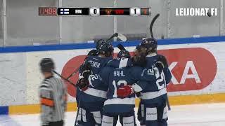 Maalikooste  U17 FIN-RUS 11.8.2018 Vierumäki