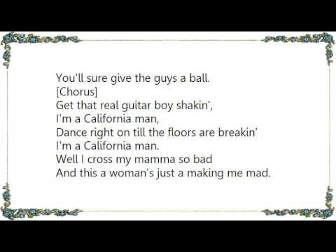 Cheap Trick - California Man Lyrics